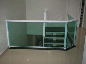 guarda corpos de vidro temperado